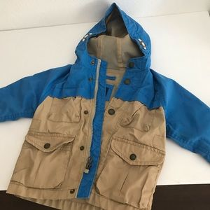 GAP jacket khaki and blue 2T
